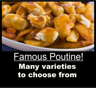 Trail Eatery Famous Poutine